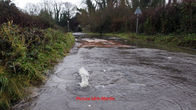 Flooding in Weymouth Dorset