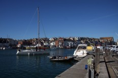 Weymouth & Portland this morning.. A yacht looks for a birth in Weymouth's historic harbour. https://idrismartin.wordpress.com/