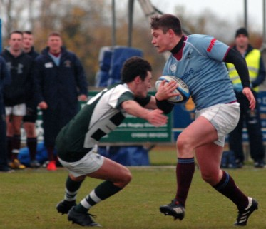 Dorset & Wilts Under 20's 12 pts v RAF Under 23 6pts @ Trowbridge RFC Dorset & Wilts D&W Green & White RAF Blue. https://idrismartin.wordpress.com/