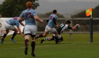 Dorset & Wilts Under 20's 12 pts v RAF Under 23 6pts @ Trowbridge RFC Dorset & Wilts D&W Green & White RAF Blue. Dorset & Wilts second try scored by Wimborne winger Max Clarke. https://idrismartin.wordpress.com/