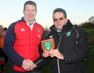 Result Swindon College Old Boys 20 v Weymouth & Portland 12. Swindon Black Red. Weymouth Blue. Weymouth skipper Ryan Lewendon recieves the runners up shield from D&W President John Constable. https://idrismartin.wordpress.com/