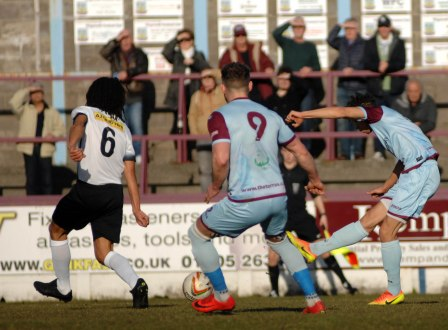 Calvin Brooks fire in the Terras opener. https://idrismartin.wordpress.com/