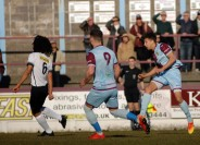 Calvin Brooks fire in the Terras opener.