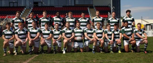 Dorset & Wilts U 20 v Cheshire U 20.